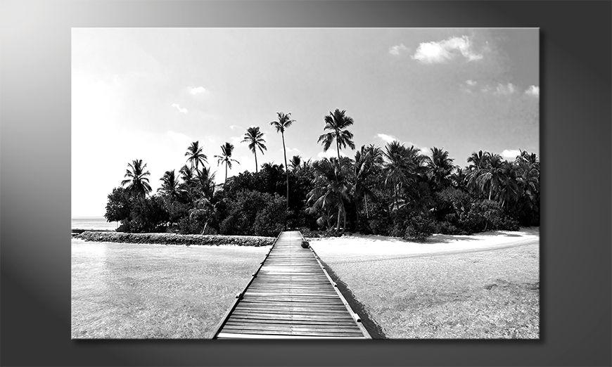 Impresión de la lona Tropical Maldives