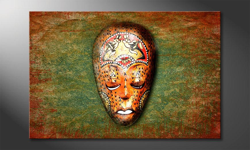 La bonita pintura Afro Dream