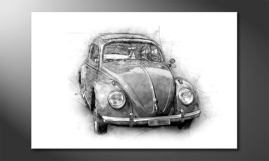 La bonita pintura Beetle