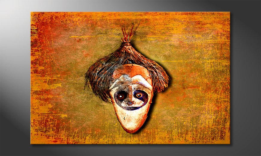 La bonita pintura Bloc Head