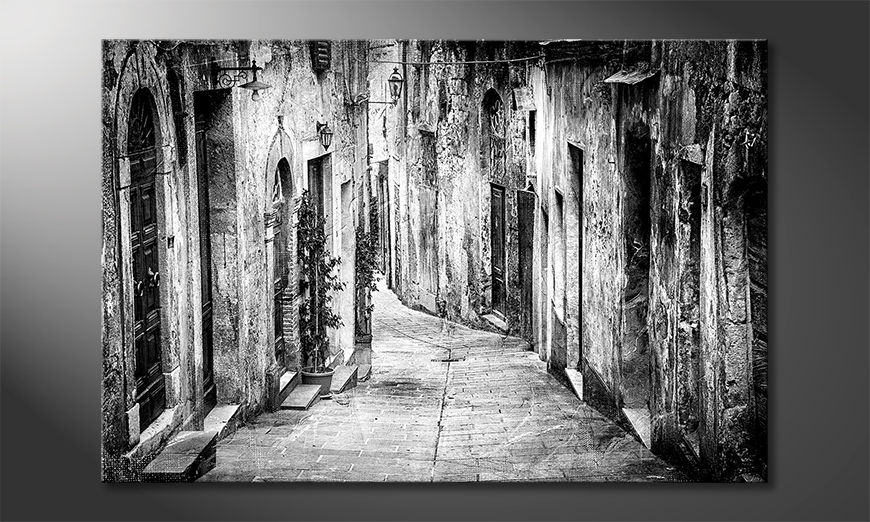 La bonita pintura Charming Old Streets