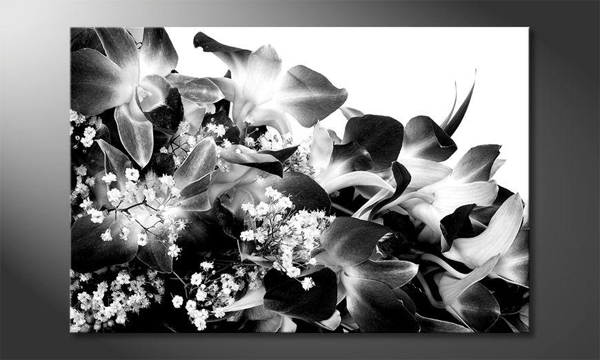 La bonita pintura Orchid Blossoms