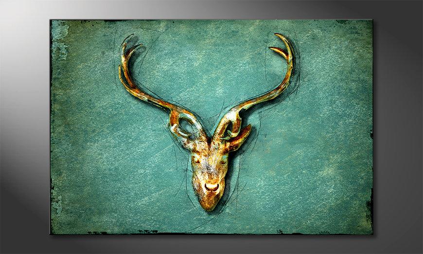 La bonita pintura The Deer