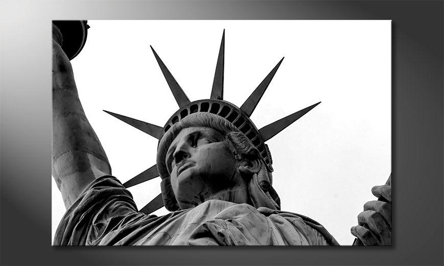 La cuadro impresa Liberty