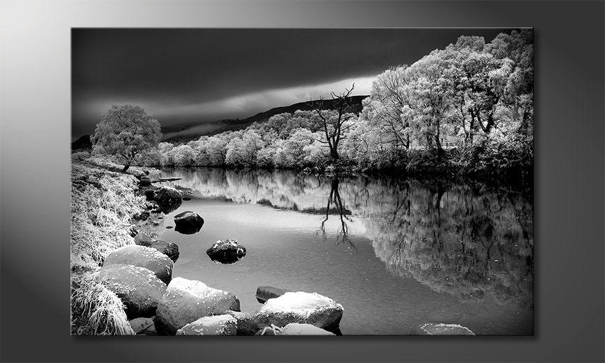 La cuadro impresa Mystic River