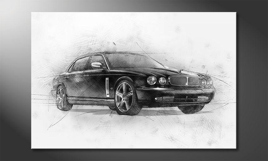 Los cuadros impresos Black Jag