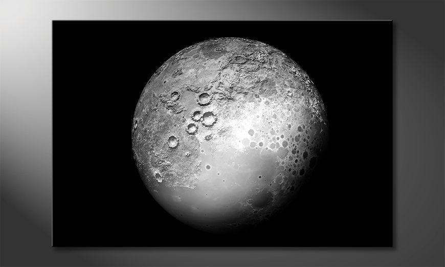 Los cuadros impresos The Moon