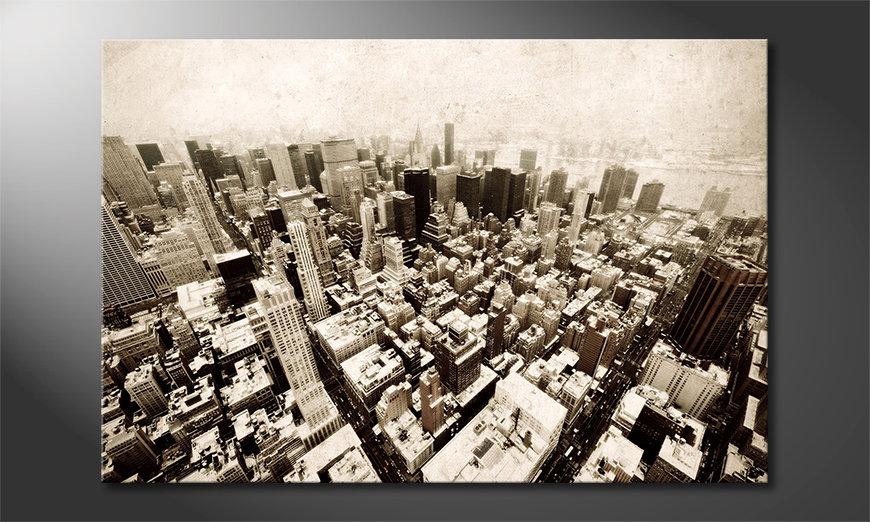 New York Vintage Cuadro