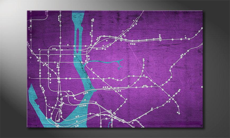 Nuestro cuadro New York Metro