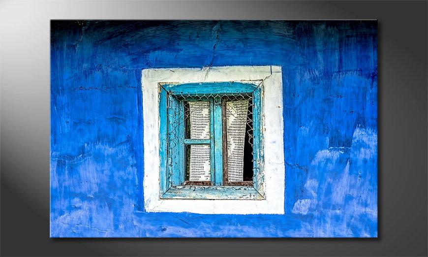 Old Window Cuadro