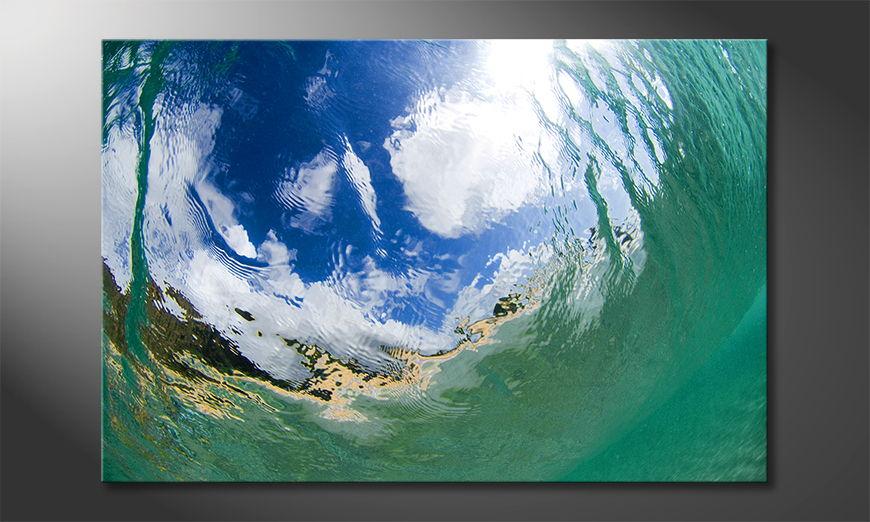 Underwater Sky Cuadro