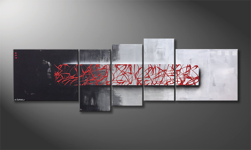 Arte moderno An Instant 210x70x2cm