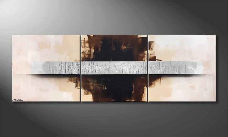 Arte moderno Clear Vision 210x70x2cm