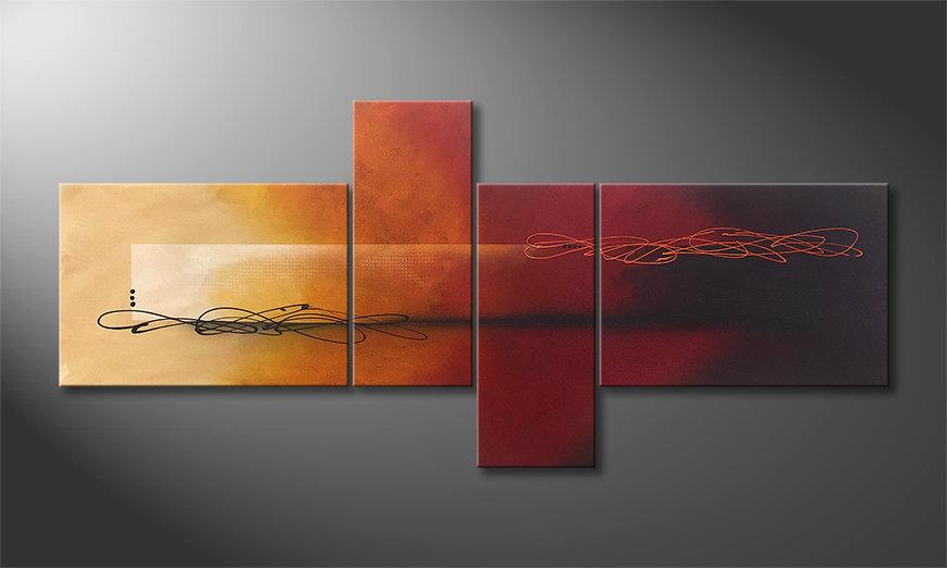 Arte moderno Into the Night 200x90x2cm