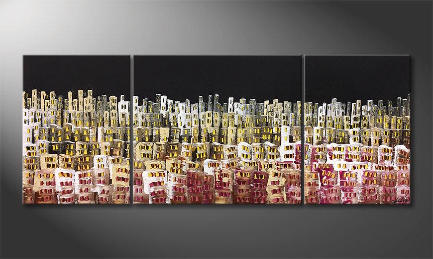 Arte moderno Urban Desert 180x70x2cm