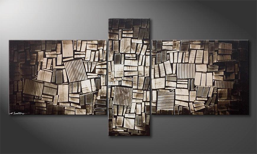 Arte moderno Wooden Light 220x110x2cm