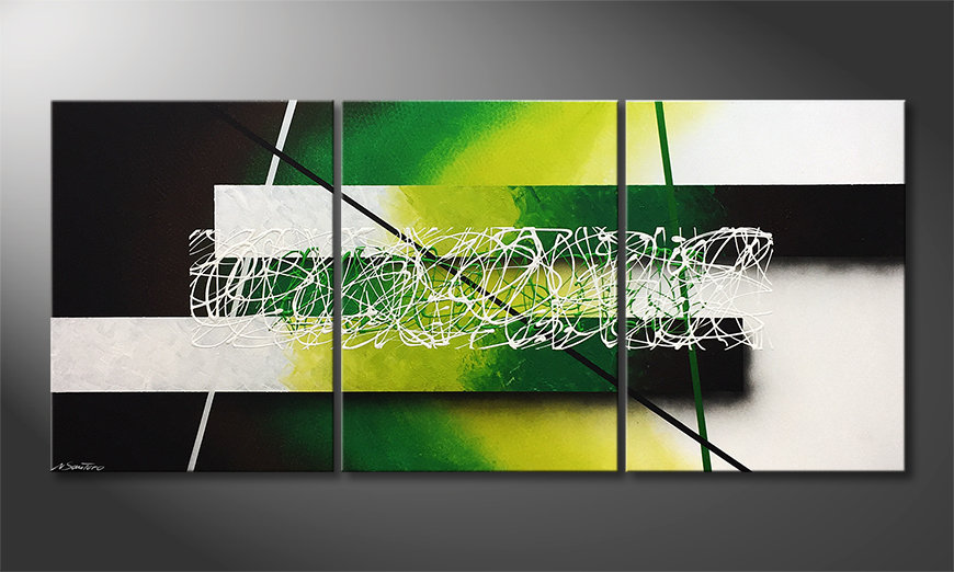El cuadro Green Connection 180x80x2cm