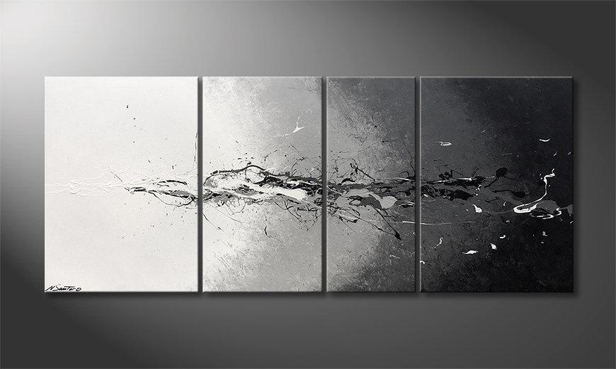 El cuadro Lost Colors 170x70x2cm