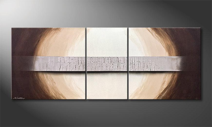 El cuadro Silver Bridge 180x70x2cm
