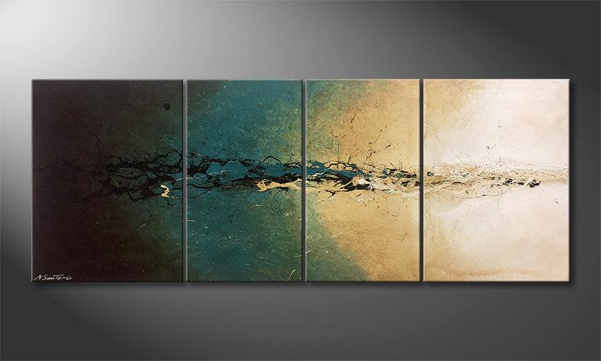 El cuadro moderno Summer Breeze 180x70x2cm