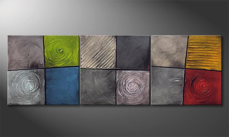La bonita pintura Kittenish Moments 225x75x2cm