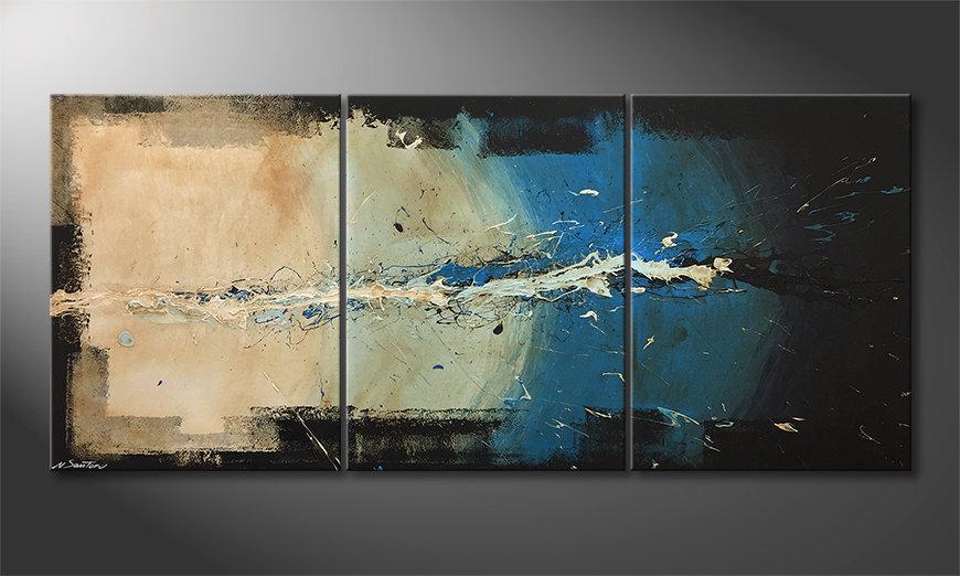 La bonita pintura One Second 180x80x2cm