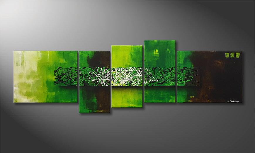 Pintura de lienzo Natural Mind 210x70x2cm